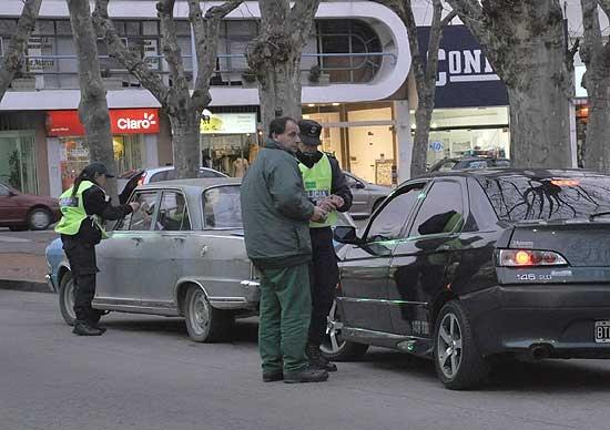 Se registraron 34 infracciones de tránsito durante el fin de semana