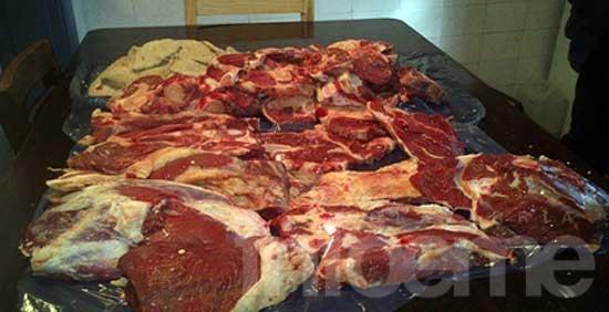 Inspecciones en carnicerías de Hinojo por hechos de abigeato