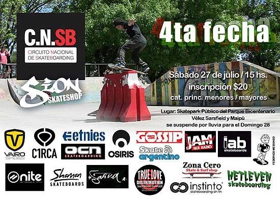 Se viene el cuarto Encuentro Nacional de Skateboarding
