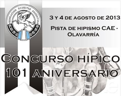 "Concurso hípico ""101 Aniversario"""