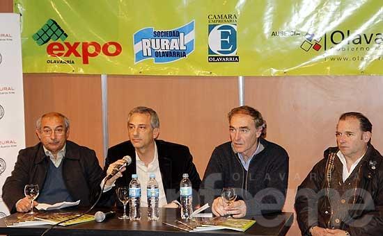 Presentaron la Expo Olavarría en La Rural de Palermo