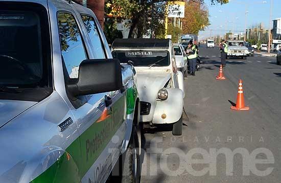 Se labraron casi 5 mil actas de infracción en controles de tránsito