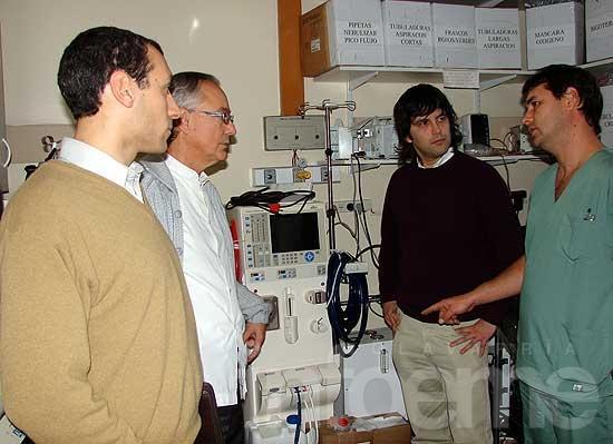 El Hospital incorporó una máquina de diálisis