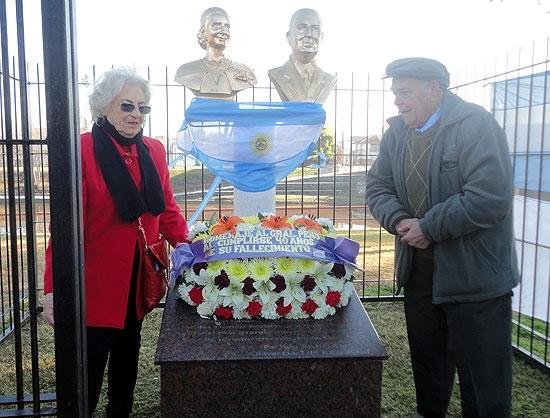 Recordaron a Juan Domingo Perón a 40 años de su muerte