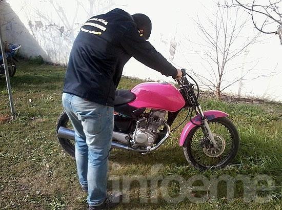 """Secuestran motocicleta con """"pedido de secuestro activo"""""""