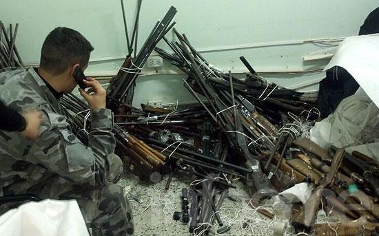Más de mil armas decomisadas por la Justicia serán destruidas