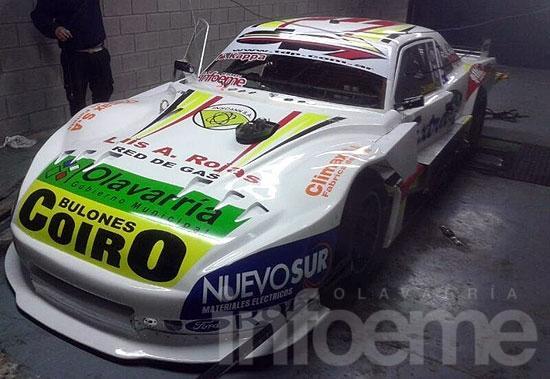 Nicolás Pezzucchi estrena auto en Posadas