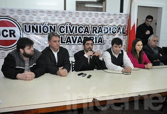 La UCR local inauguró su comité provisorio