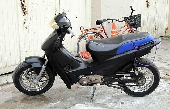 Retuvieron una moto con pedido de secuestro