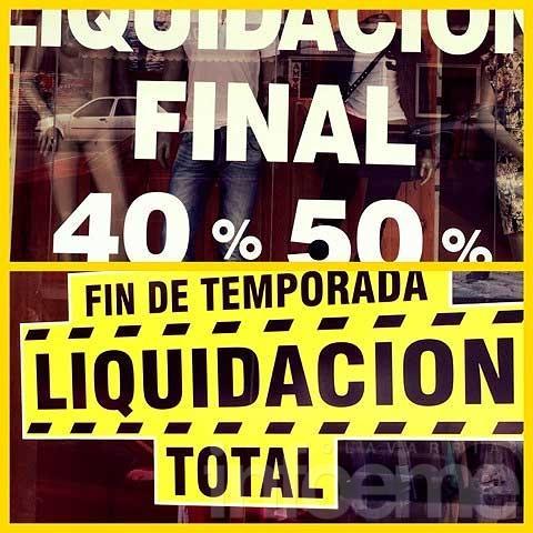 Temporada de liquidaciones (primera parte)