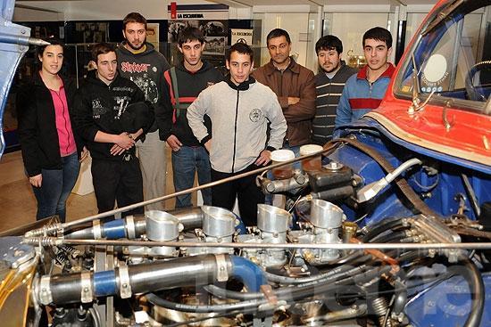 Estudiantes de la Escuela Técnica 2 visitaron el Museo Emiliozzi