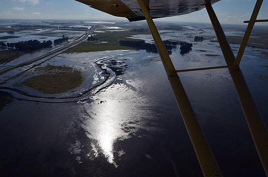 La Cuenca del Salado se colapsó y hay riesgo de inundaciones