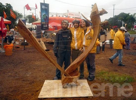 Olavarriense representó a la Provincia en la Bienal del Chaco