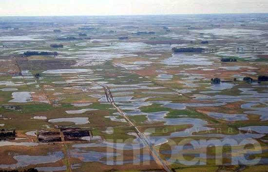 Por exceso de las lluvias, Arba extiende vencimiento del Inmobiliario Rural