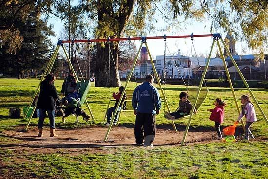 Vacaciones de invierno en los parques a pleno sol