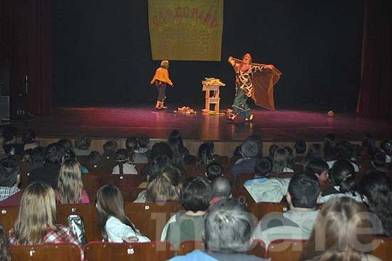 El Circopado fue un éxito y se realizó ante un Teatro repleto