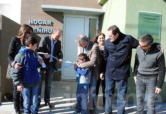 Quedó reinaugurado el Hogar Municipal Peñihuén