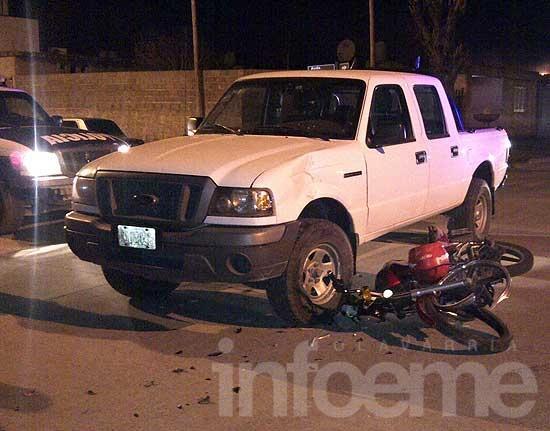Continúa grave la motociclista accidentada el miércoles