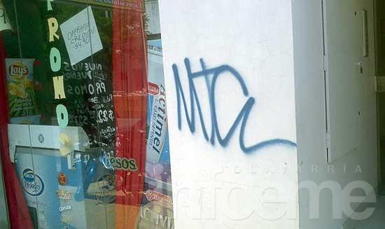 """""""Son acciones vandalizadas que dañan la propiedad"""""""