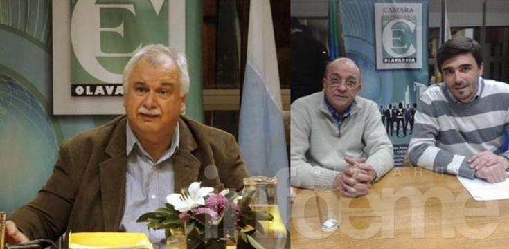 Cladera y Galli presentaron sus propuestas en la Cámara Empresaria
