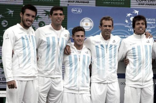 Mayer, Schwartzman, Delbonis y Berlocq, el equipo de la Copa Davis