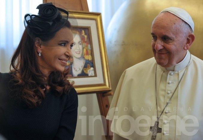 CFK viajará a Paraguay en la visita oficial del papa Francisco