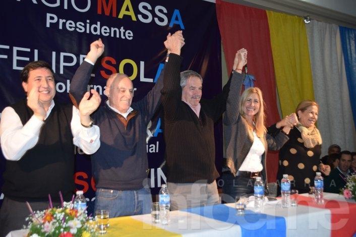 Con Liliana Schwindt a la cabeza, se lanzó la lista del Frente Renovador