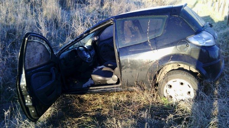 Tres jóvenes heridos en un violento vuelco cerca del Matadero