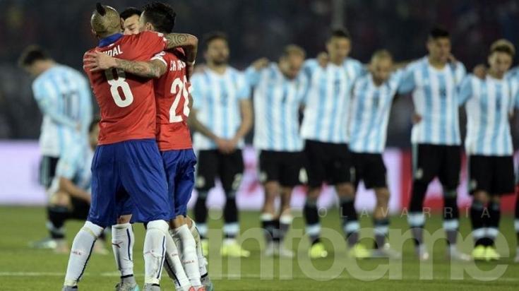 Chile superó a la Argentina y se quedó con la Copa América por primera vez en su historia