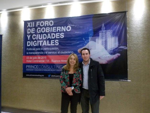 Olavarría representada en el Foro de Gobierno y Ciudades Digitales