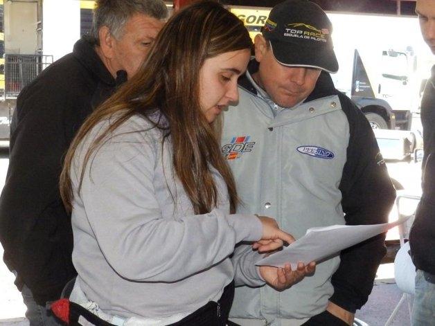Josefina Vigo debutó en el Top Race Series