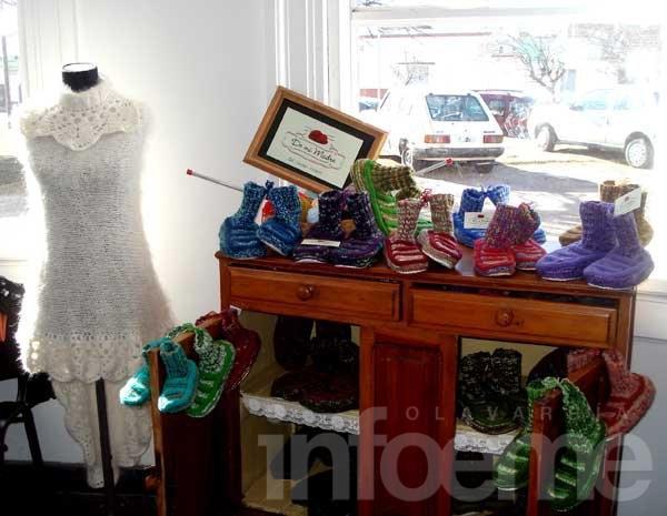 Feria de artesanos en la Casa del Bicentenario