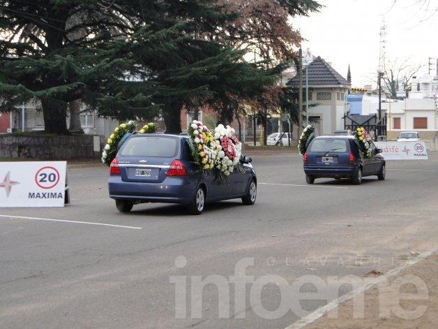 Familiares, amigos y dirigentes dieron el último adiós a Soledad