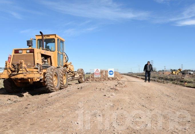 Comenzaron las obras de bacheo de la Ruta Provincial N° 60
