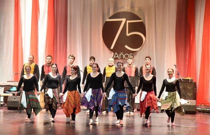 Comenzaron los festejos por el 75° aniversario del Teatro Municipal