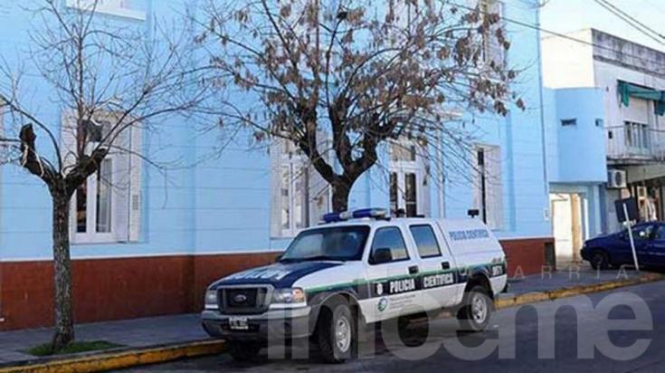 Allanamientos en el barrio Coronel Dorrego