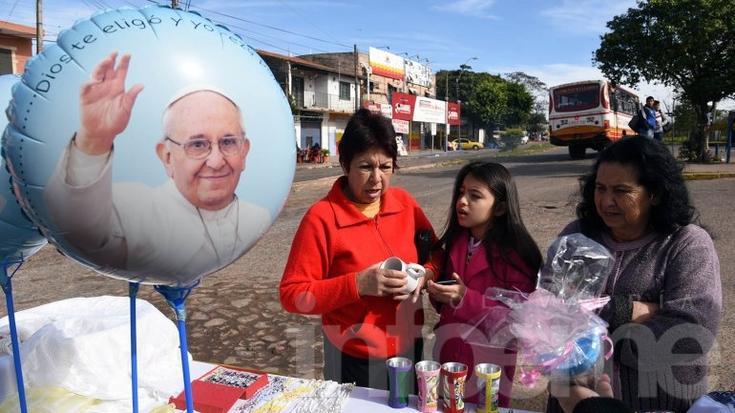 Éxodo de argentinos para ver al Papa a Paraguay
