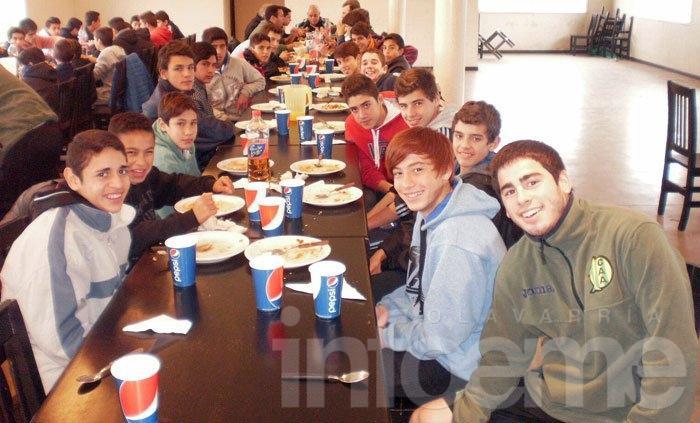 Los chicos visitaron a Aldosivi de Mar del Plata