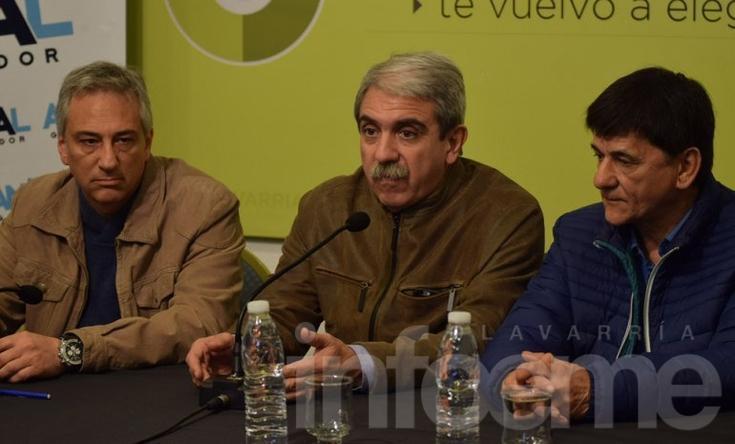 En plena campaña, Aníbal Fernández visitó a José Eseverri
