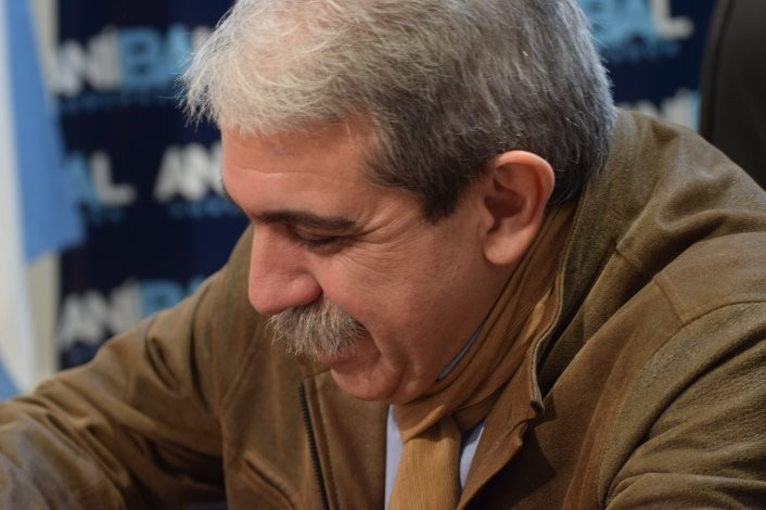 """Aníbal Fernández: """"Yo me voy a poner al frente de la seguridad"""""""