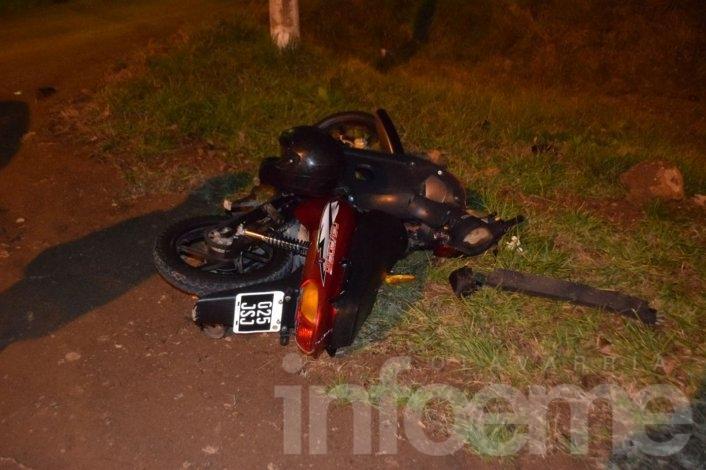 Una mujer herida en un choque en autopista Fortabat