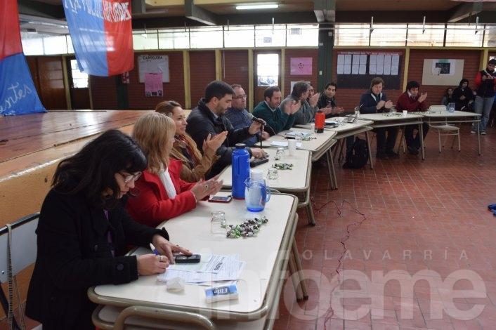 Candidatos presentaron propuestas en la Ex Nacional