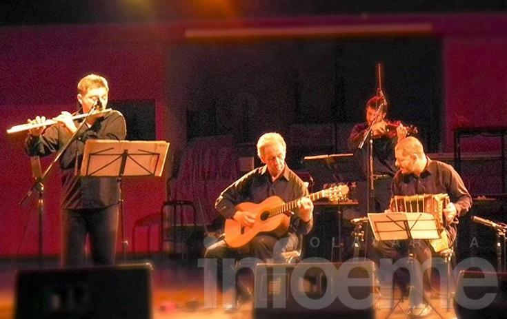 El cuarteto Viejo Rincón se presenta en la Do'Milonga