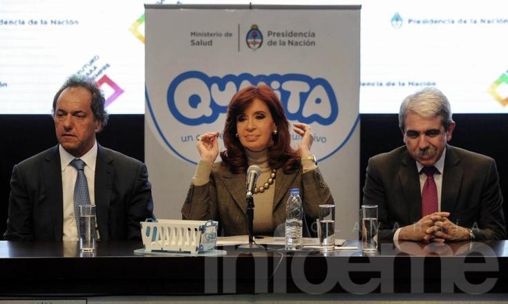 """Cristina presentó el """"Plan Qunita"""" en la reinauguración de Tecnópolis"""