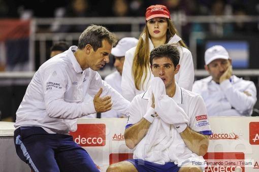 Con un triunfazo de Delbonis, Argentina quedó 2-0 ante Serbia