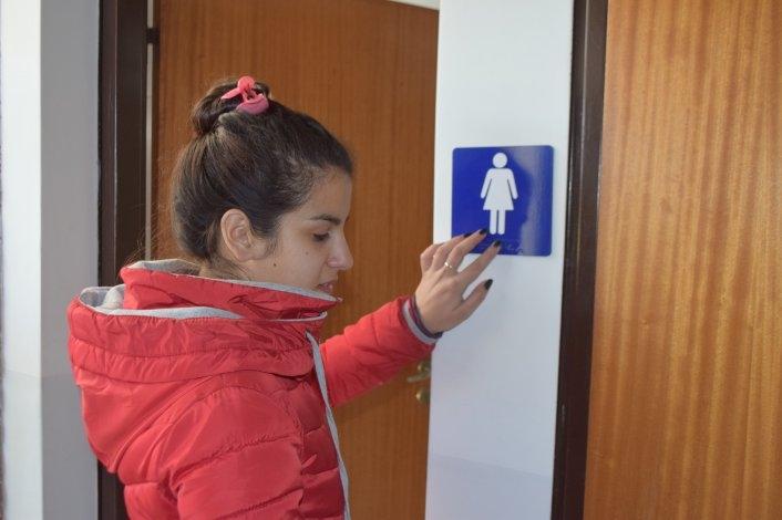Señalizan con sistema braille el Complejo Universitario