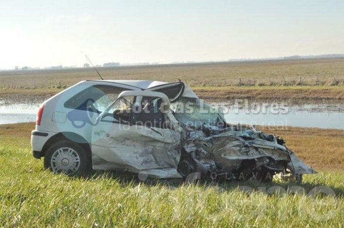 Dos muertos en triple choque en la Ruta 3