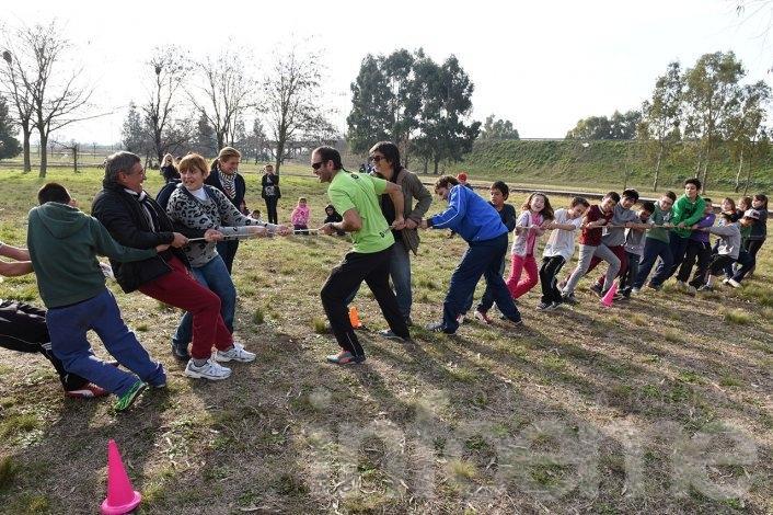 Realizaron una jornada de intervención en Parque Izaguirre
