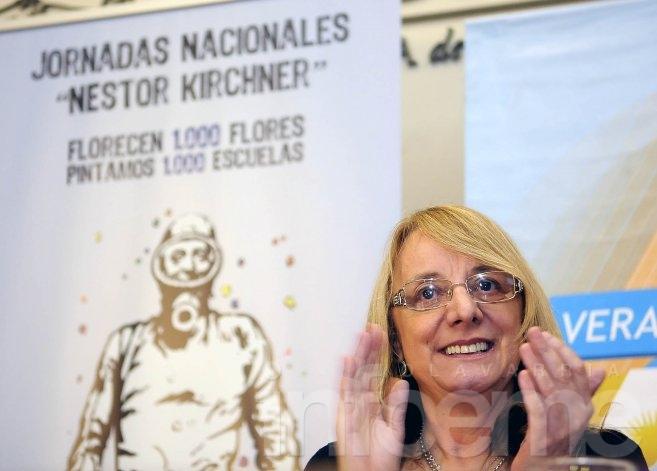 Alicia Kirchner será candidata a gobernadora de Santa Cruz