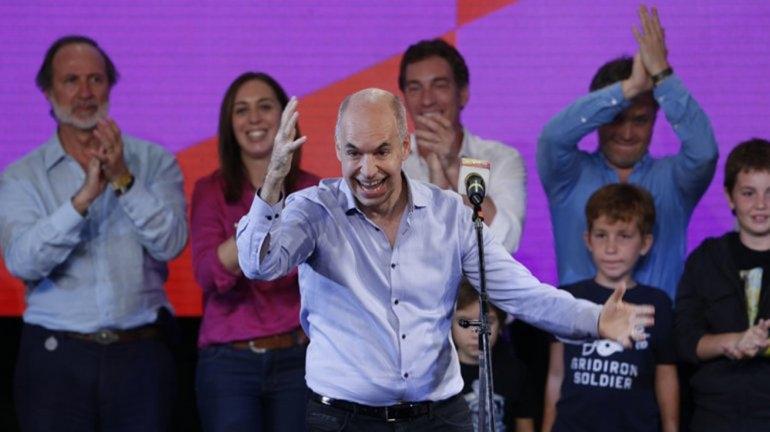 Rodríguez Larreta es el nuevo jefe de Gobierno